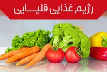 مواد غذایی قلیایی و بدن انسان