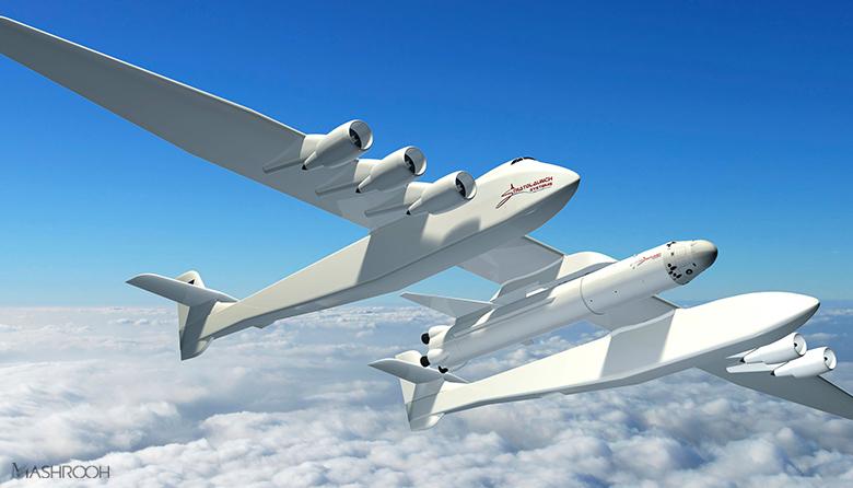 موسس مایکروسافت بزرگترین هواپیما عالم را ساخت+عکس