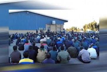 کارگران شرکت لاستیک پارس ساوه نسبت به خصوصی سازی تجمع اعتراضی برگزار کردند.