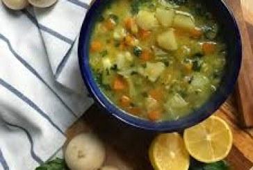 طرز تهیه سوپ شلغم با مرغ(داروی طبیعی سرماخوردگی)