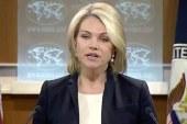 آمریکا: از مردم ایران در نبرد علیه تروریسم افراطی حمایت می کنیم!