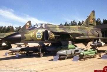 این جنگنده ثابت میکند چرا نباید با نیروی هوایی سوئد وارد جنگ شد