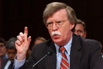 جان بولتون: تا زمانیکه نیروهای ایران در سوریه حضور دارند آن جا را ترک نمیکنیم!