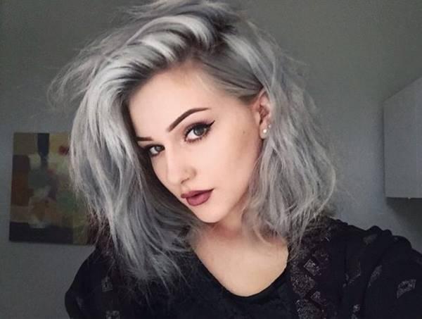 موی نقره ای