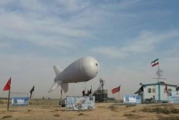 بالن مخابراتی در مرز مهران اینترنت ۴G به زائران میدهد