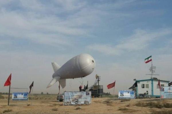 بالن مخابراتی در مرز مهران