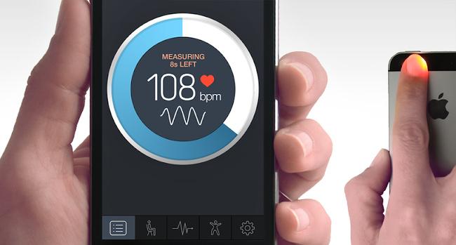 اندازه گیری فشارخون با موبایل