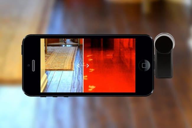 حرارت سنج موبایل