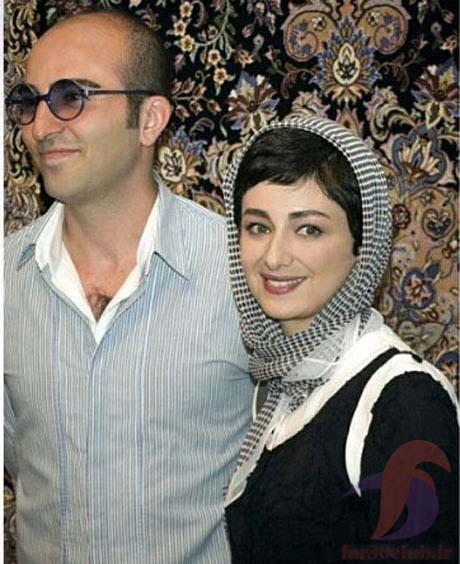 ویدا جوان و همسرش