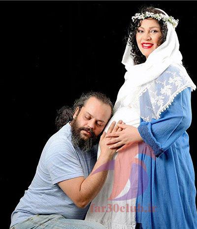 زیبا بروفه در دوران بارداری