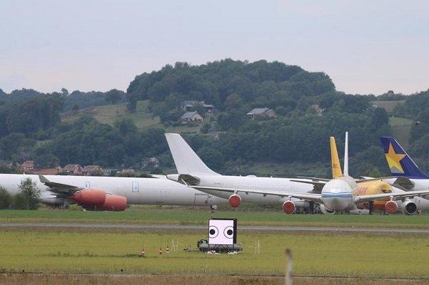 هواپیماهای مسافربری ایران در استانبول
