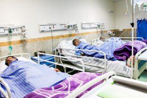 بیماران در بیمارستان
