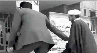 امام جمعه و بخشدار الوار اندیمشک