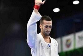 ناکامی امیر کاراته قم در کسب مدال طلای رقابت های جهانی