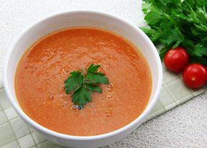 سوپ سیر و زنجبیل
