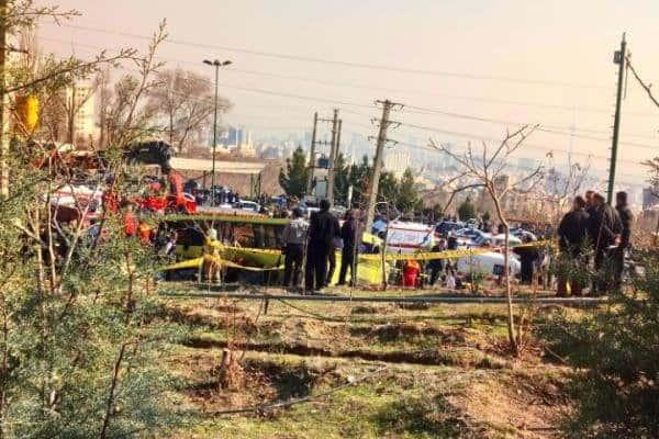واژگونی اتوبوس حامل دانشجویان دانشگاه آزاد