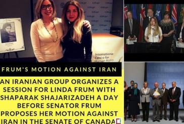 یکی از دختران انقلاب از مجلس کانادا درخواست کرد کشورمان را تحریم کنند