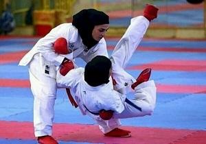 تیم کاراته بانوان قم