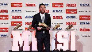 کفش طلای لیونل مسی