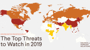تهدیدات جهانی در سال 2019