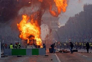 اعتراضات جنبش ضدسرمایه داری فرانسه به دیگر کشورهای اروپایی از جمله هلند و بلژیک در حال گسترش است