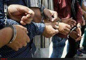 دستگیری باند سارقان منازل ساوه