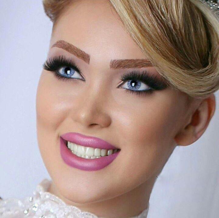 زیباترین مدل آرایش صورت 11