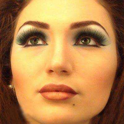 زیباترین مدل آرایش صورت 2