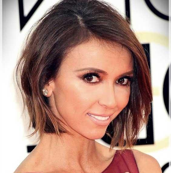 مدل موی زنانه برای صورت مثلثی شکل