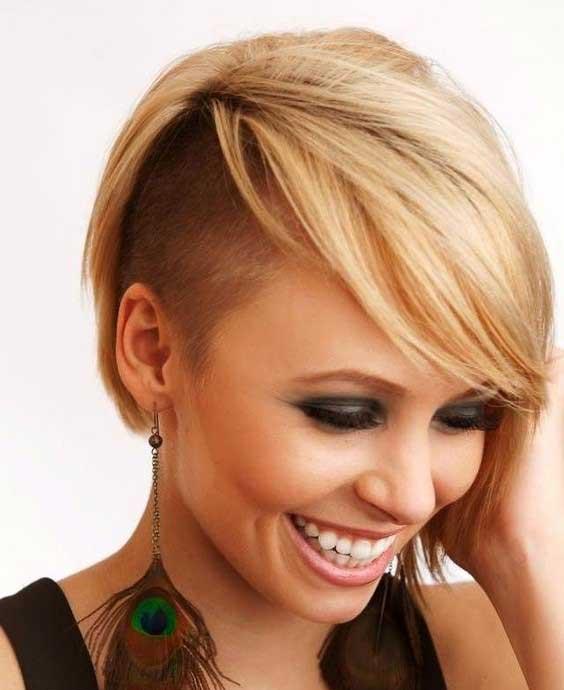 مدل موی زنانه تراشیده شده