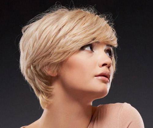 مدل موی کوتاه برای صورت کشیده 1