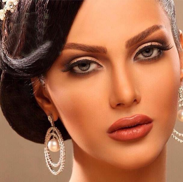 زیباترین مدل آرایش صورت 7