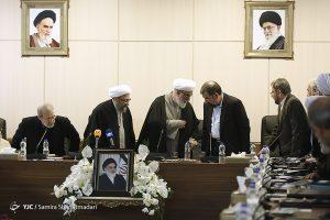 جلسه معارفه رئیس مجمع تشخیص