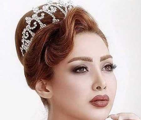 زیباترین مدل آرایش صورت 9