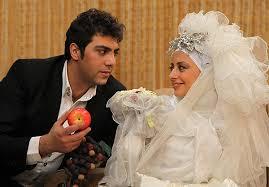عکس نفیسه روشن و همسرش