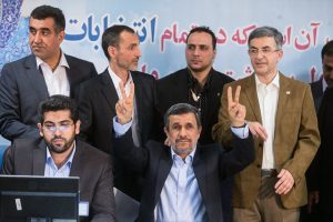 احمدی نژاد و دوستانش