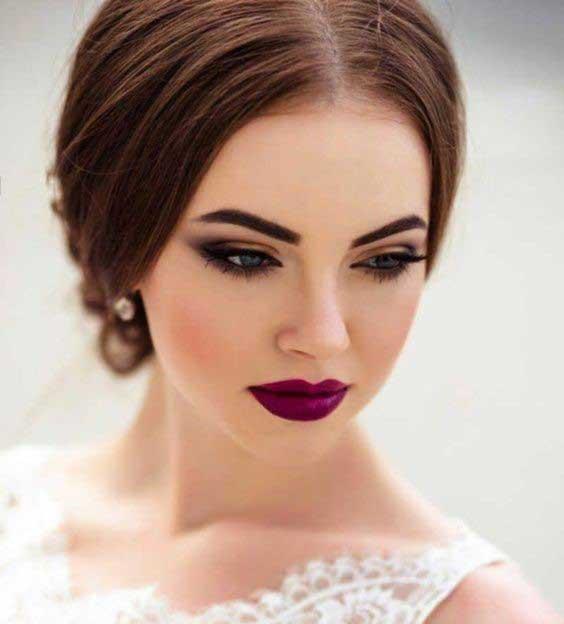 مدل میکاپ عروسی