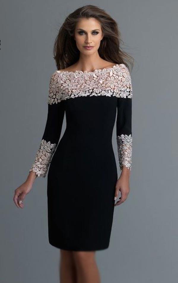 مدل لباس مجلسی گیپوردار