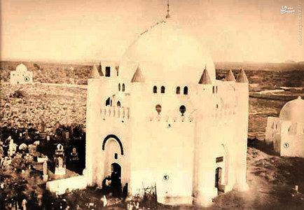تخریب قبرستان بقیع به دست وهابیون