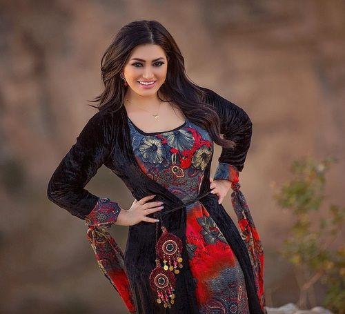لباس کردی زنانه سنتی