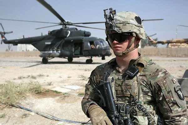 نیروهای نظامی آمریکا در اربیل عراق