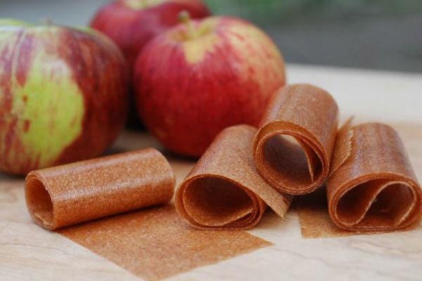 طرز تهیه لواشک سیب