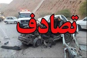 تصادف در اتوبان ساوه - همدان منجر به مصدوم شدن 11 تن شد