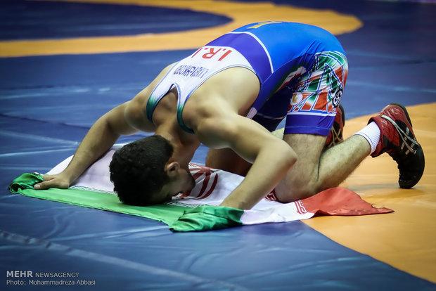 تیم کشتی فرنگی نوجوانان ایران برای چهارمین بار قهرمان جهان شد