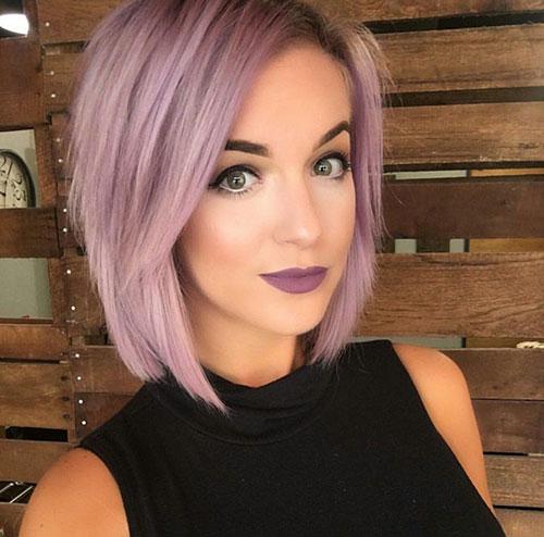 ترکیب رنگ موی یاسی