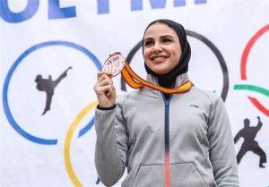 مدال طلای لیگ جهانی کاراته توکیو به سارا بهمنیار رسید