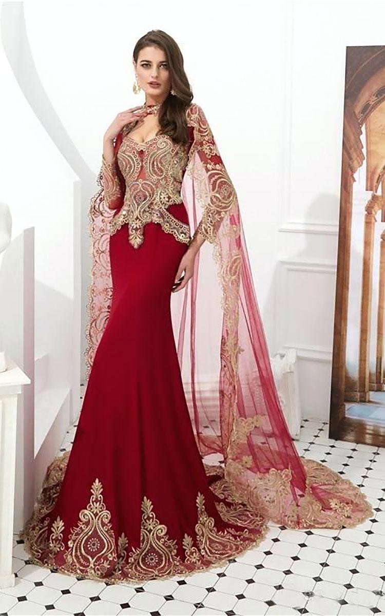 زیبتارین مدل های لباس مجلسی عربی