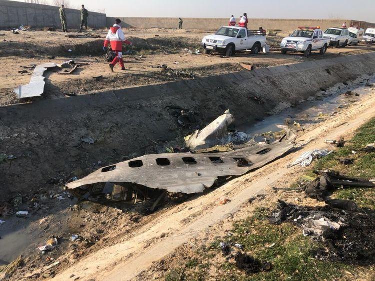ماجرای برخورد موشک به هواپیمای مسافربری اوکراینی