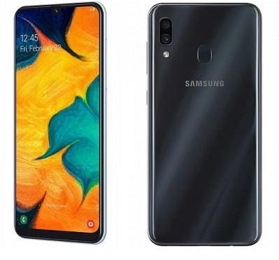 samsung galaxy a30، a30