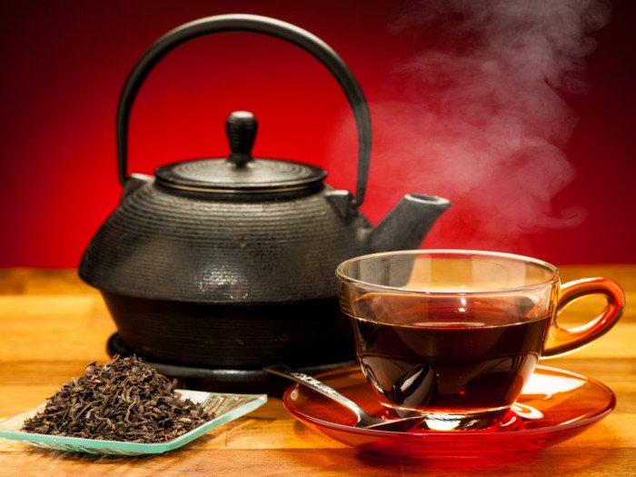 قهوه، قهوه سیاه، چای، چای سیاه